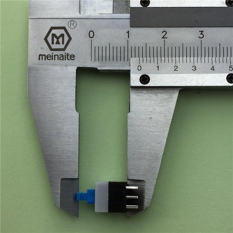 30 قطعة/الوحدة مربع 8x8x13 ملليمتر 6 دبوس DPDT زر دفع صغير الذاتي قفل التبديل G65 المتعدد التبديل شحن مجاني