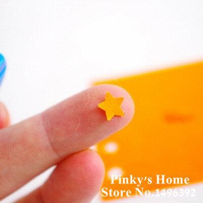 (5 ชิ้น/ล็อต) mini Scrapbook Punches Handmade Cutter Card Craft Calico การพิมพ์ DIY ดอกไม้กระดาษหัตถกรรม Punch Hole Puncher รูปร่าง