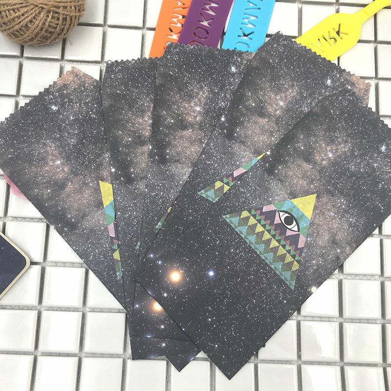 5 ชิ้น/ล็อตDREAM STARกระดาษโรแมนติกStarryสไตล์ซองVintageสไตล์สำหรับบัตรScrapbookingของขวัญ 03220