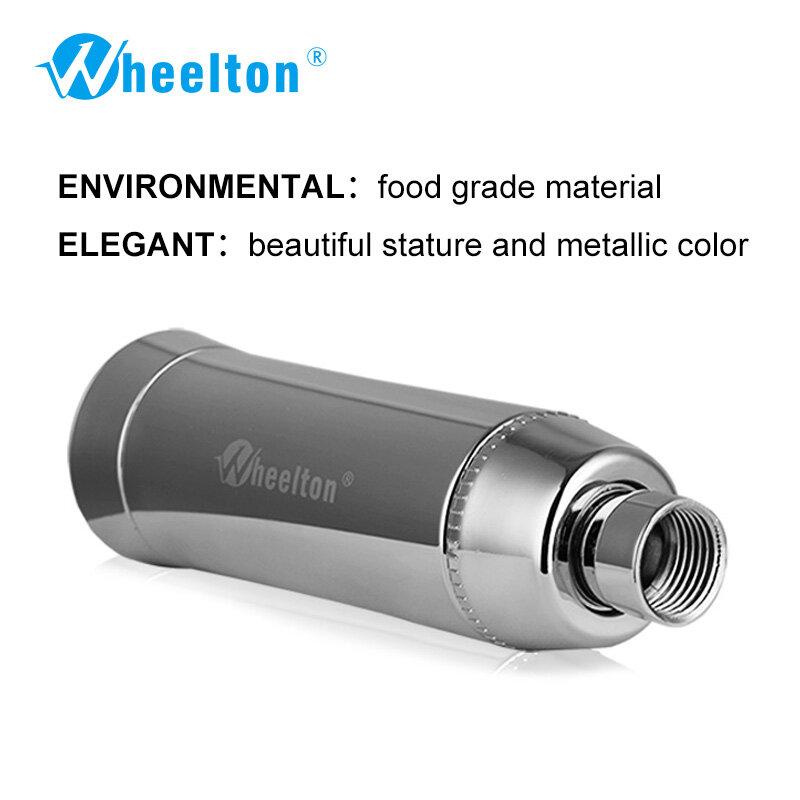 Wheelton – filtre pour bain SPA, élimine le chlore, purificateur d'eau de douche, Filtration d'eau douce, 3 cartouches supplémentaires