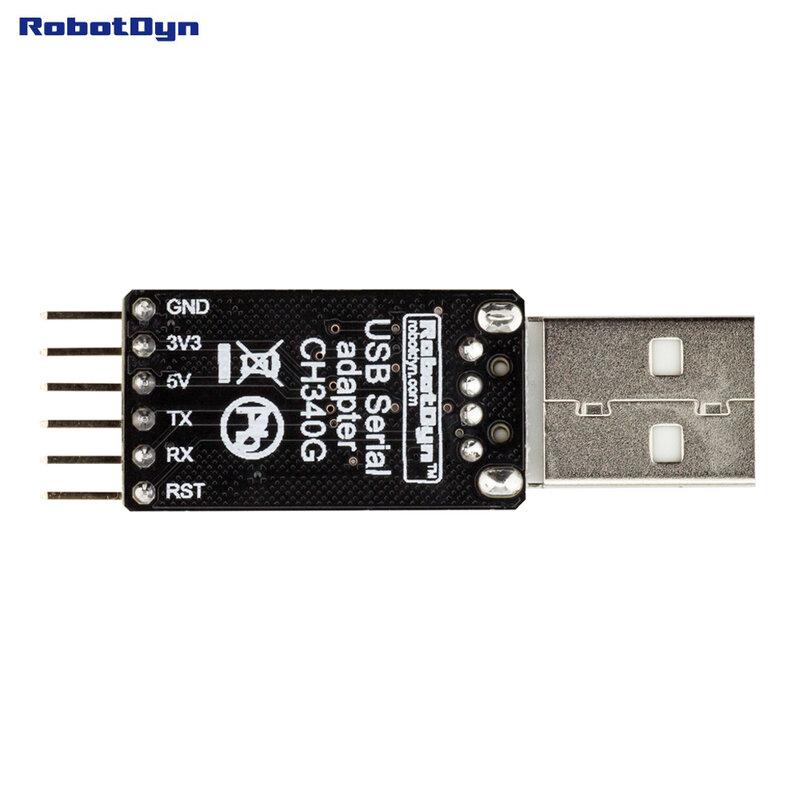 USB a TTL UART CH340-convertitore seriale, 5V/3.3V-universale. Non è necessario passare. IC CH340G