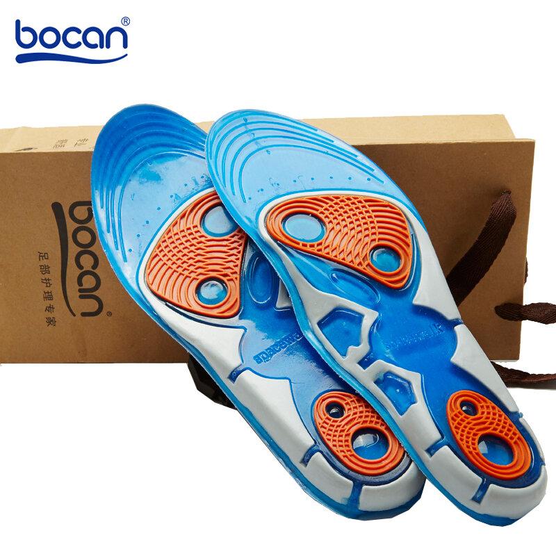 Bocan-semelles de Sport en Gel de silicone haute qualité pour soins des pieds, pour fasciite plantaire