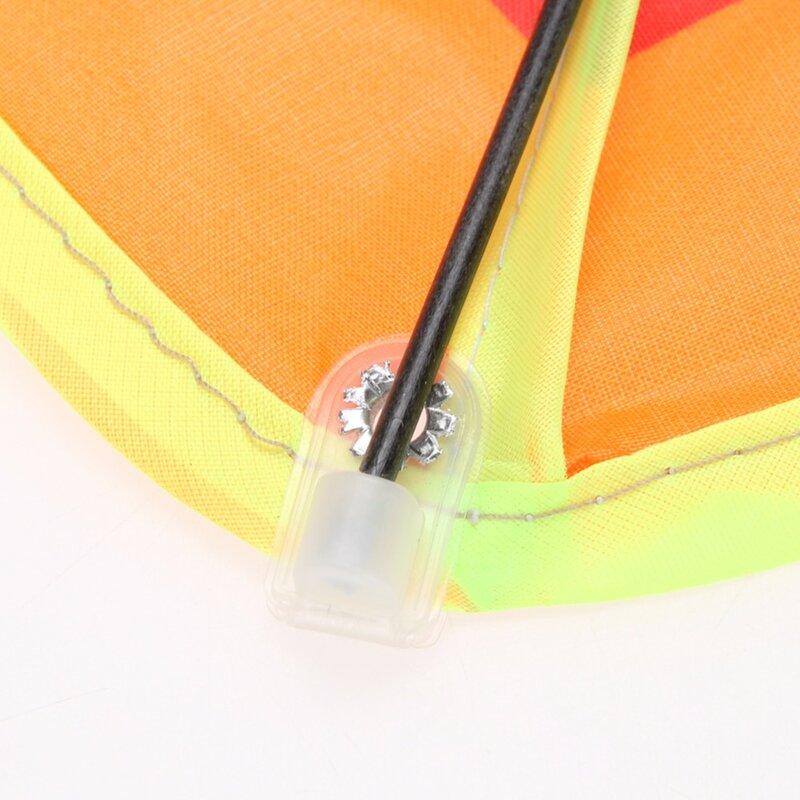 1pc Regenbogen Kite Ohne Fliegen Werkzeuge Outdoor Spaß Sport Kite Fabrik Kinder Dreieck Bunte Hohe Qualität Kite Einfach Fly