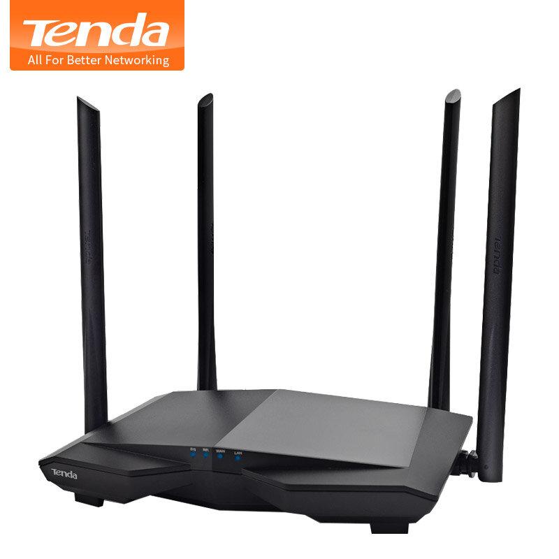 Tenda-موجه واي فاي لاسلكي AC6 AC1200 ، مكرر واي فاي مزدوج النطاق ، 11AC 2.4G/5.0GHz ، 1167Mbps