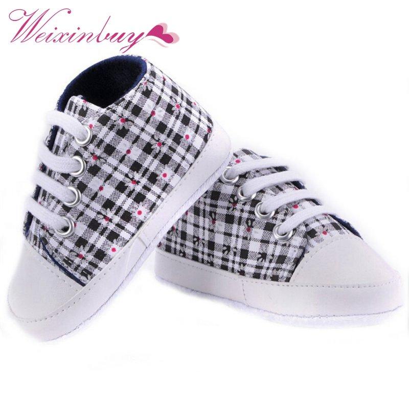 حذاء رياضي للأطفال من 0 إلى 18 شهرًا ، نعل ناعم ، غير رسمي