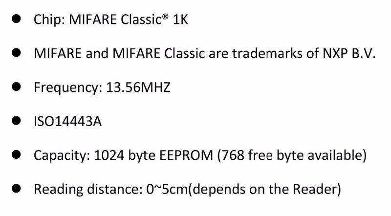 RFID بطاقة فارغة النافثة للحبر للطباعة 13.56Mhz ISO14443A 1k العمل مع NFC الهاتف شحن مجاني 10 قطعة/الوحدة