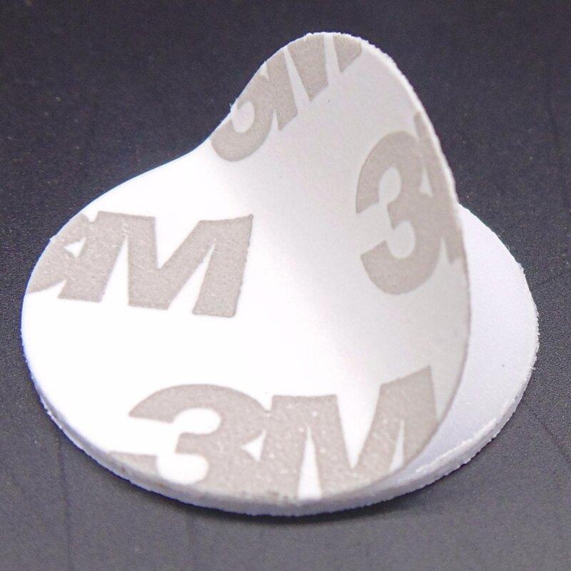 (10 teile/los) TK4100 (EM4100) RFID 125 khz 3 M Aufkleber Münzen 25mm Smart Tags Lesen-nur Access Control Karten