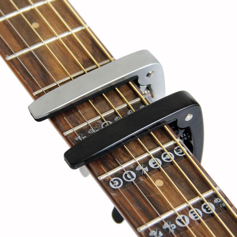Chitarra Capo per chitarre acustiche ed elettriche Totale materiale di alluminio Accessori Per Chitarra