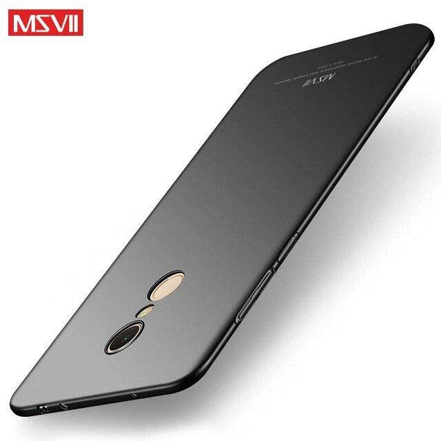 100% الأصلي msالسابع الجيل الجديد الفاخرة PC جراب هاتف شاومي redmi 5 (5.7 '') ل redmi 5plus (5.99'') مكافحة زلق