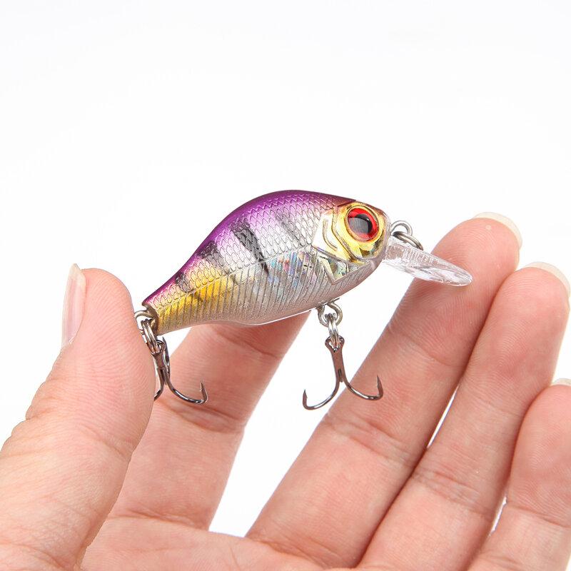 8,5G 5,5 CM Bass Angeln Lockt Kurbel Köder Crankbait Tackle Schwimmen köder wobbler angeln japan Harte Verrückte Fische Locken