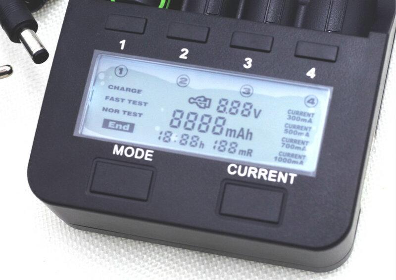 شاحن Liitokala lii500 LCD لبطاريات الليثيوم, 3.7 18650 26650 18500 18640 شاحن بطارية ليثيوم اسطوانية 1.2 فولت AA AAA NiMH