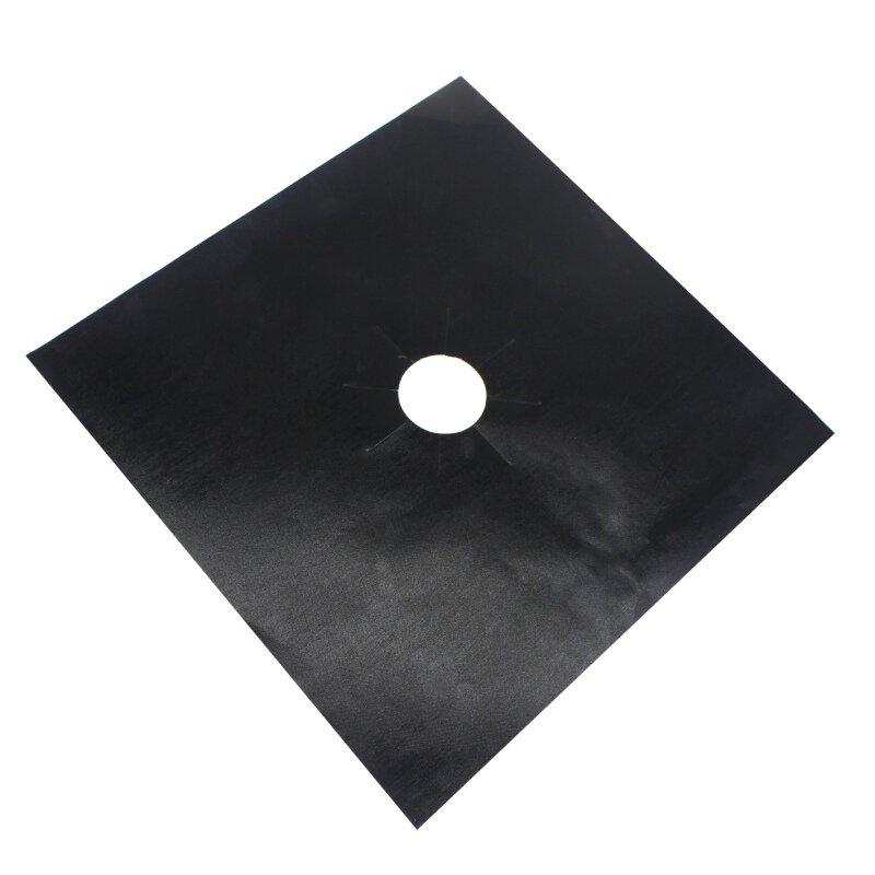 4Pcs Reusable ฟอยล์แก๊ส Hob ช่วง Stovetop Burner Protector ฝาครอบสำหรับทำความสะอาดเครื่องมือ