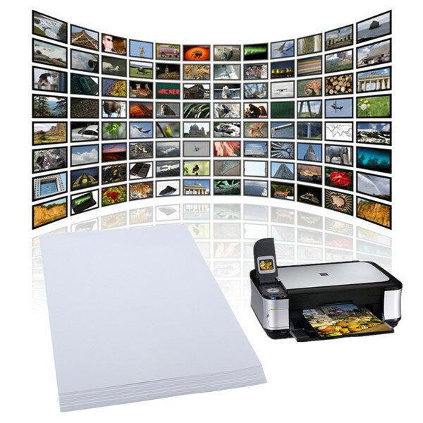 ورق صور احترافي شديد التحمل ، 20 ورقة × A4 ، لامع ، للطابعة النافثة للحبر ، 210 مللي متر × 297 مللي متر ، أبيض