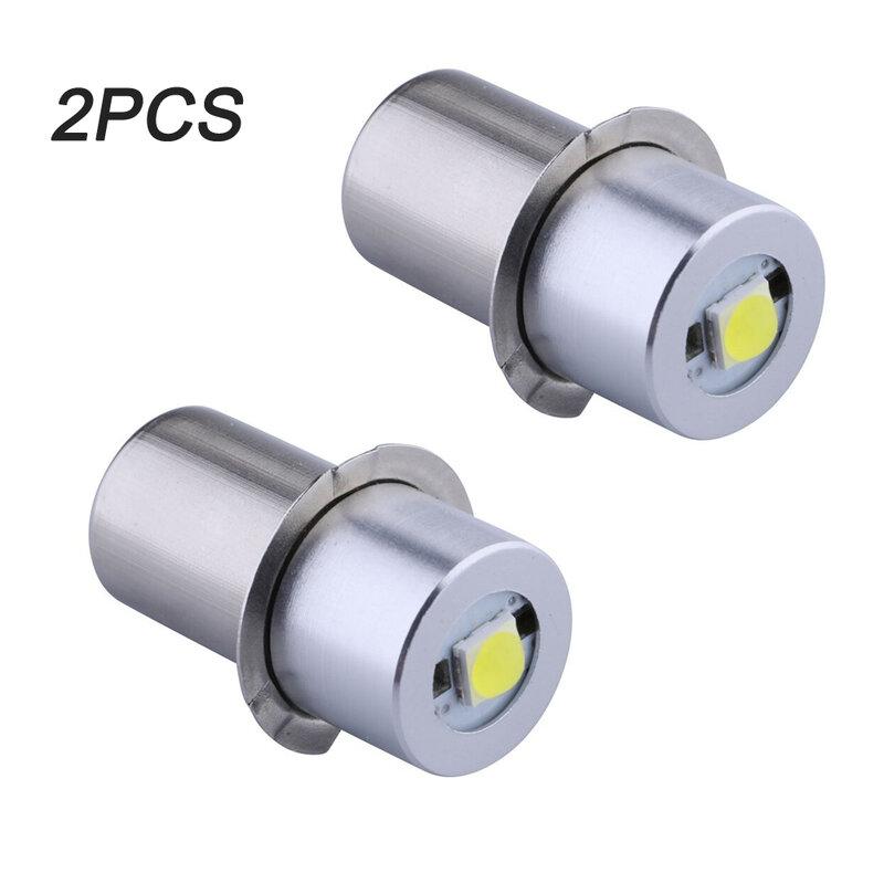 2PCS P13.5S 기본 PR2 높은 전원 LED 업 그레 이드 전구 Maglite, 교체 전구 Led 변환 키트 Fot C/D 손전등 토치
