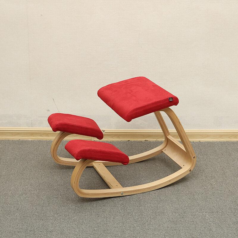 Original Ergonomische Hinknien Stuhl Hocker Hause Büro Möbel Ergonomischen Schaukel Holz Kniend Computer Haltung Stuhl Design