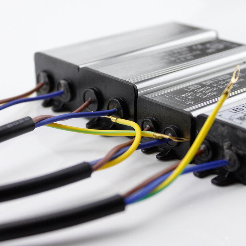 Driver – transformateur d'éclairage 10W 20W 30W 50W, adaptateur, AC 100V-265V 220V à DC 20-38V, alimentation de commutation IP67 pour projecteur