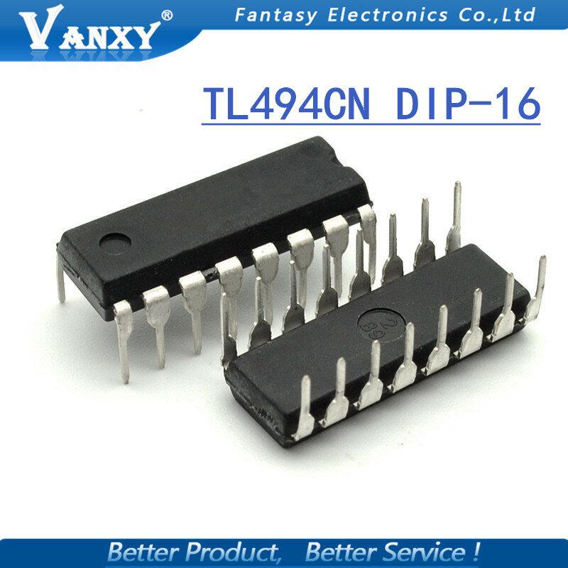 10 قطعة TL494CN DIP16 TL494C DIP TL494 494CN DIP-16 جديدة ومبتكرة IC
