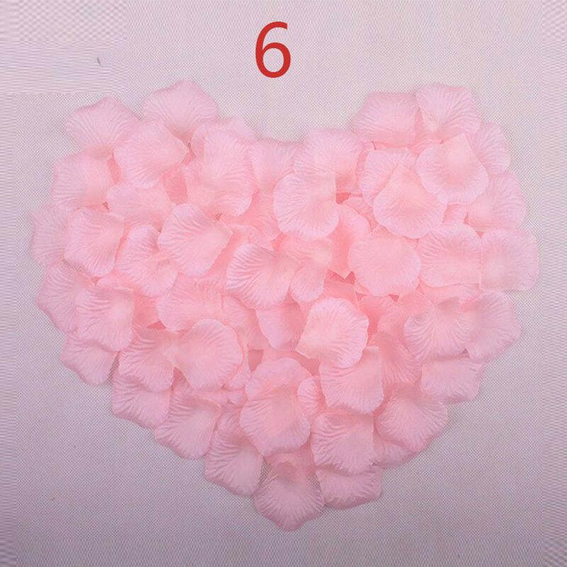 Petali di Rosa Accessori da Sposa 1000 Pezzi/lottp a Buon Mercato Petalas Artificiais Petali di Rosa Fiori Decorazione di Cerimonia Nuziale Bella