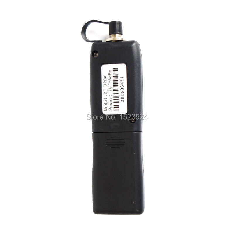 Mini compteur de puissance optique portatif, YJ-320A -70 ~ + 6dbm YJ-320C -50 ~ + 26dbm