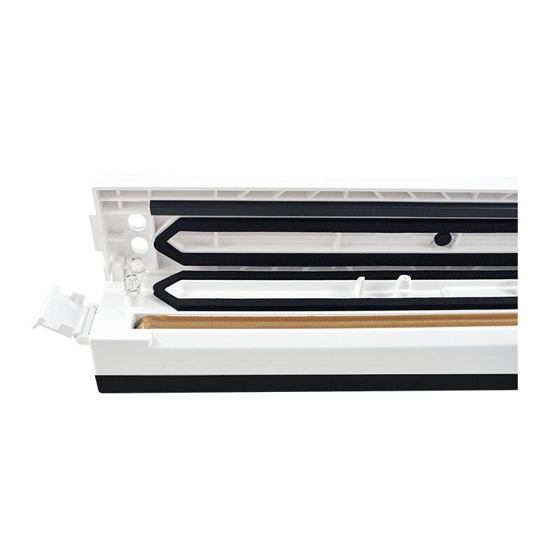 Scelleur alimentaire sous vide ATWFS 220 V/110 V Machine de scellage d'emballage scelleur sous vide de cuisine emballeur avec 15 pièces sacs sous vide pour économiser des aliments