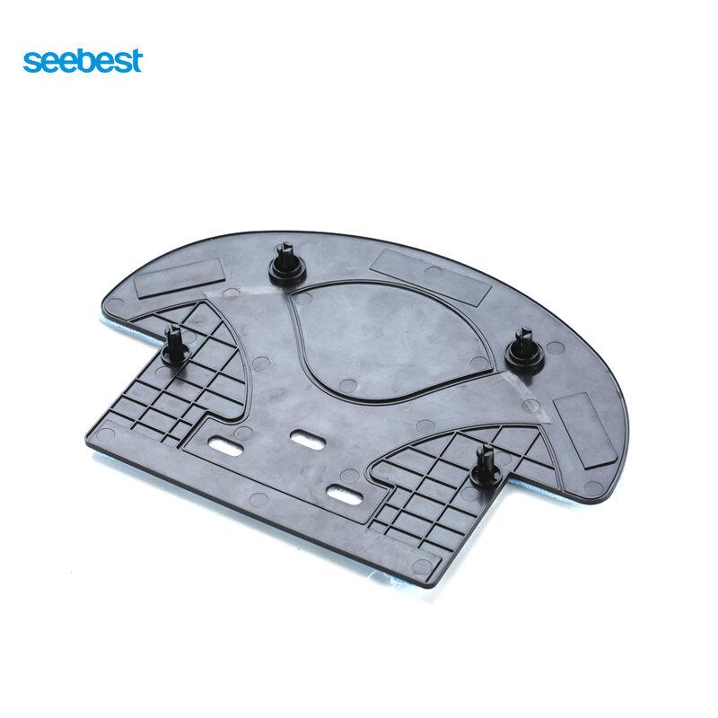 Seebest d720 momo 1.0 대형 흡입 전원, 2 개의 측면 브러시, 시간 일정 청소, 2200 mah 리튬 이온 건조 모핑 로봇 진공 청소기