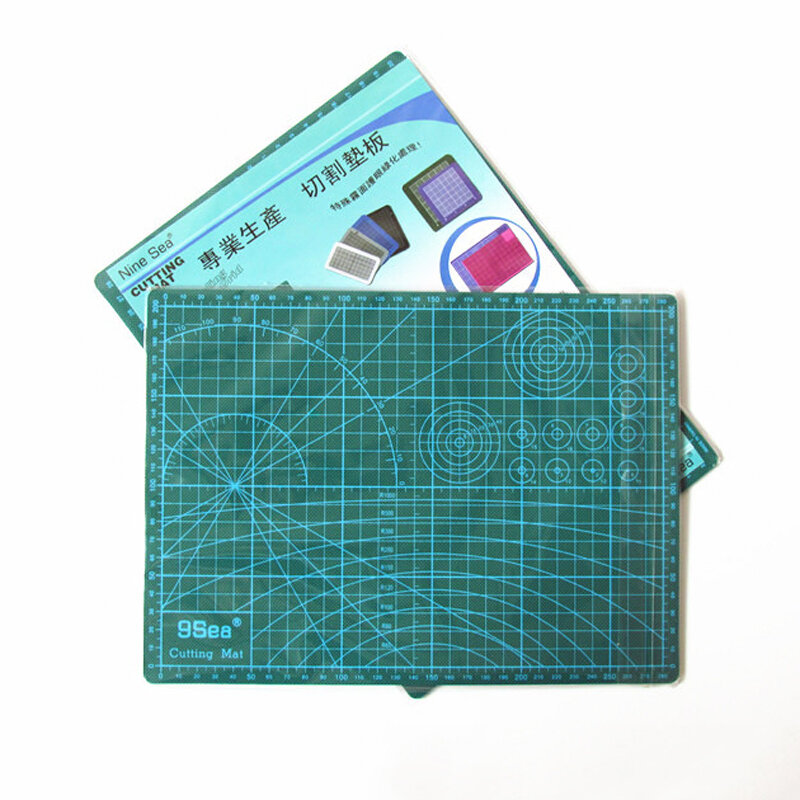 Pvc Rechteck Self Healing Schneiden Matte Werkzeug A4 Handwerk Dark Grün 30cm * 22cm