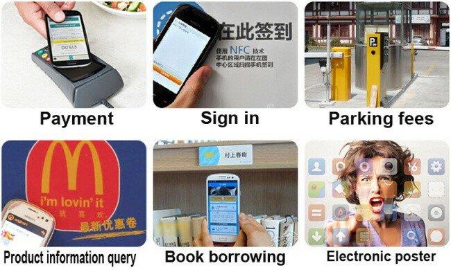 100 قطعة NFC Tag Ntag213 ISO14443A 13.56MHz NFC ملصق Ntag 213 تتفاعل بطاقات شعارات NFC ملصقات لاصقة لجميع الهواتف NFC