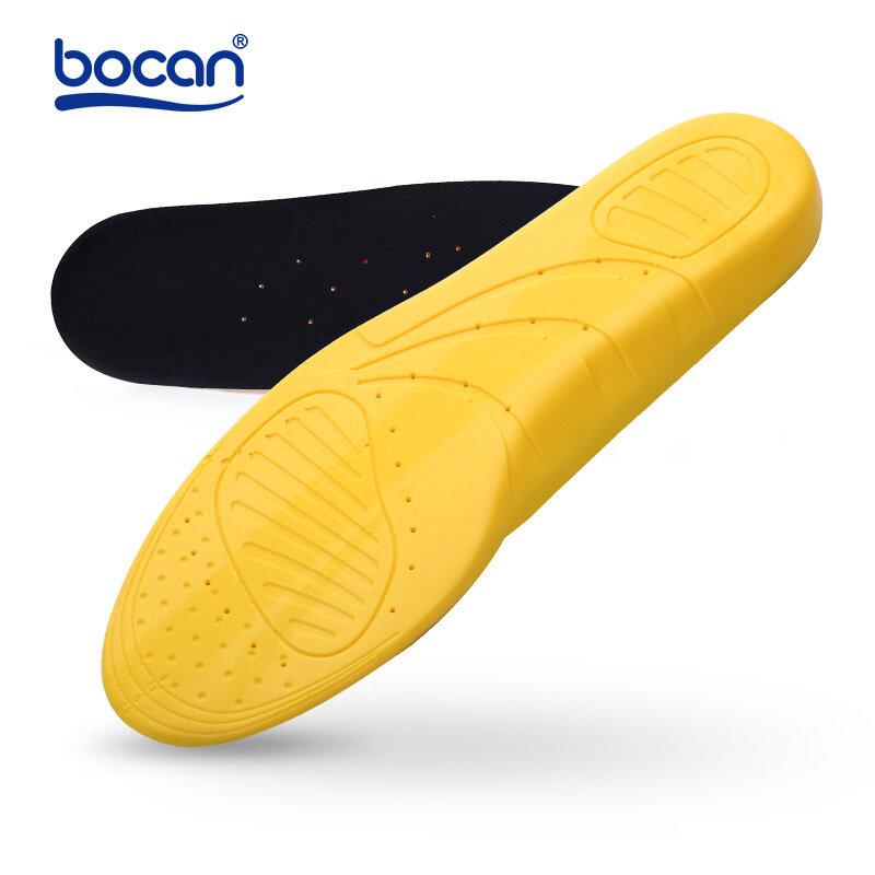 Plantillas para zapatos de alta calidad para hombres y mujeres, cojines con absorción de impacto, transpirables, cómodas, alivian el dolor de pies