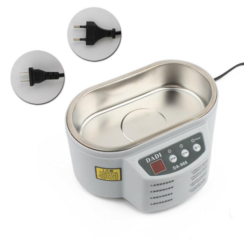 30W/50W 220V/110V Mini Ultraschall Reiniger Bad Für Cleanning Schmuck Uhr Gläser Schaltung board Limpiador Ultrasonico