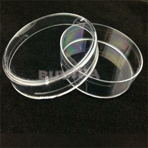 10Pcs ล้างจาน Petri พร้อมฝาปิดพลาสติกทิ้ง Petri จานเคมีห้องปฏิบัติการ 60 มม.