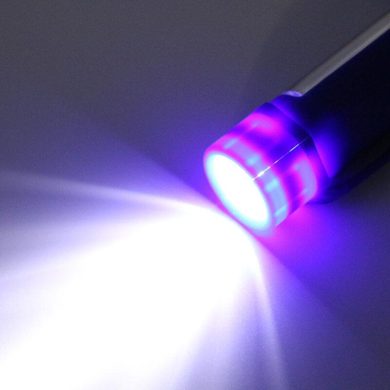 COB LED Mini penna torcia a led multifunzione torcia a LED torcia da lavoro cob torcia a mano quadrata da lavoro torcia con magnete