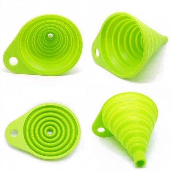 SOSW-แบบพกพาช่องทางห้องครัวช่องทางสะดวกสีเขียว