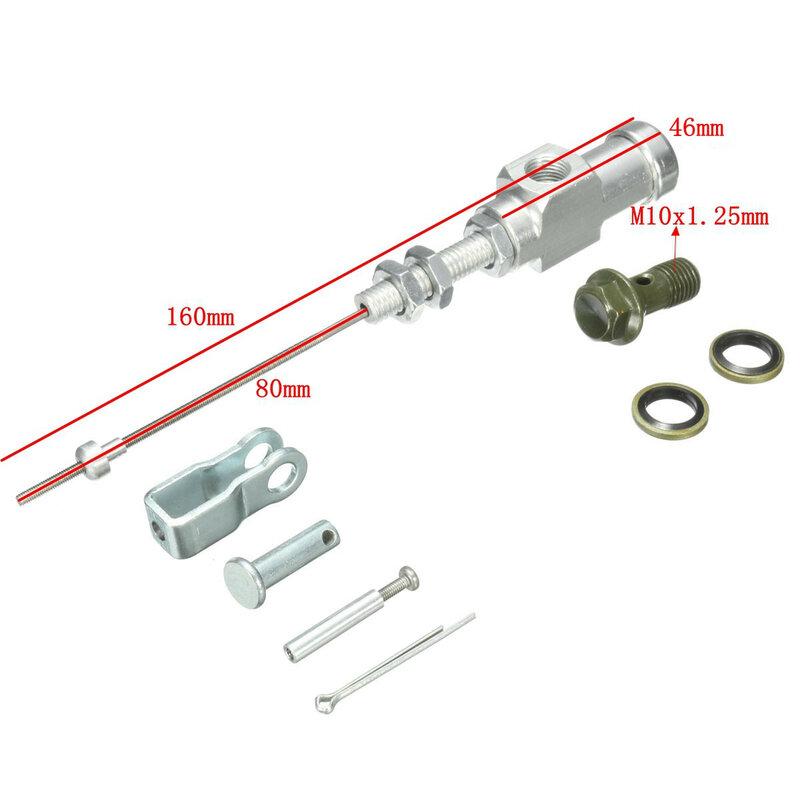 1 قطعة دراجة نارية قابض هيدروليكي أسطوانة رئيسية قضيب الفرامل مضخة M10x1.25mm