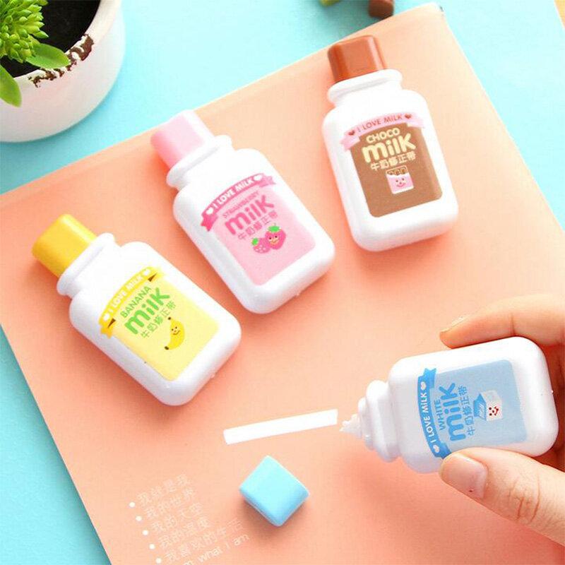 1 قطعة ute الحليب تصحيح الشريط المواد Escolar Kawaii القرطاسية مكتب اللوازم المدرسية Papelaria