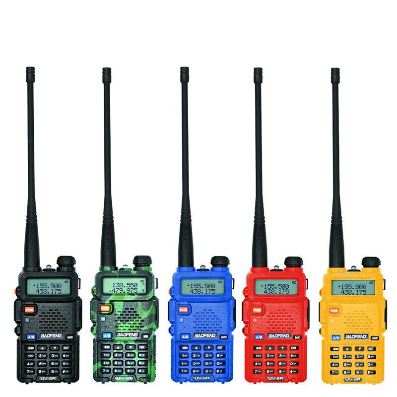 Baofeng UV-5R اسلكية تخاطب المهنية CB راديو محطة Baofeng UV 5R الإرسال والاستقبال 5W VHF UHF المحمولة UV5R الصيد هام راديو