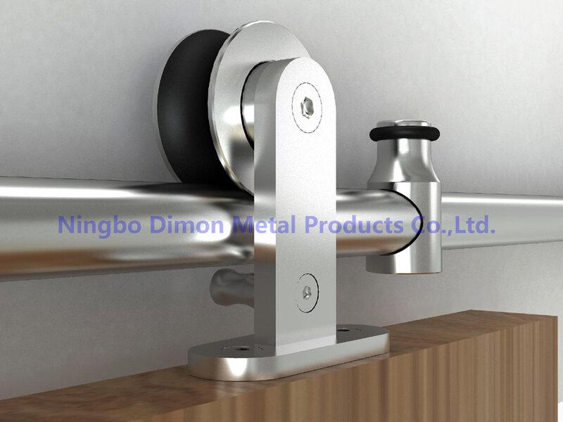 ديمون صنع وفقا لطلب الزّبون SUS 304 ينزلق باب خشبيّ جهاز أمريكا نمط قطع تركيب باب منزلق DM-SDS 7101