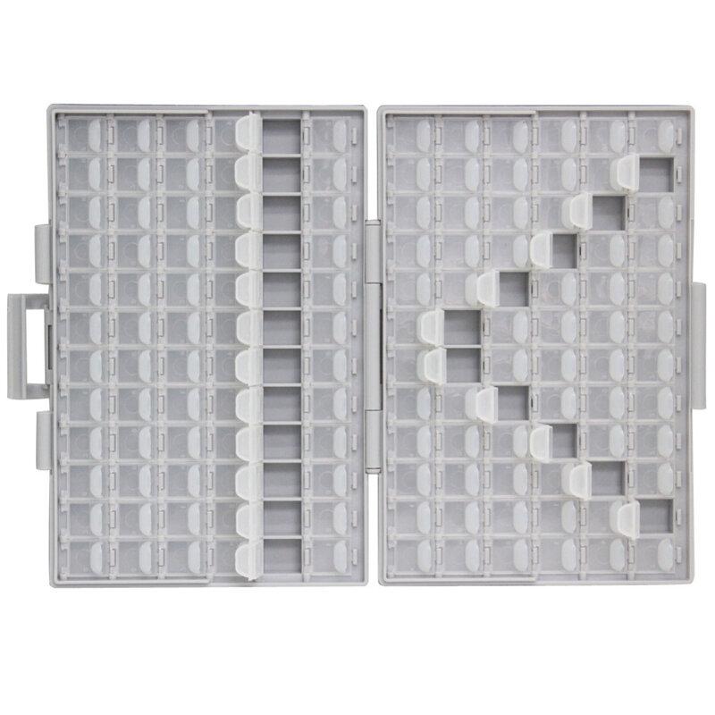 AideTek-علبة أدوات إلكترونية شفافة ، صندوق تخزين مقاوم SMT ، صندوق أدوات بلاستيكي