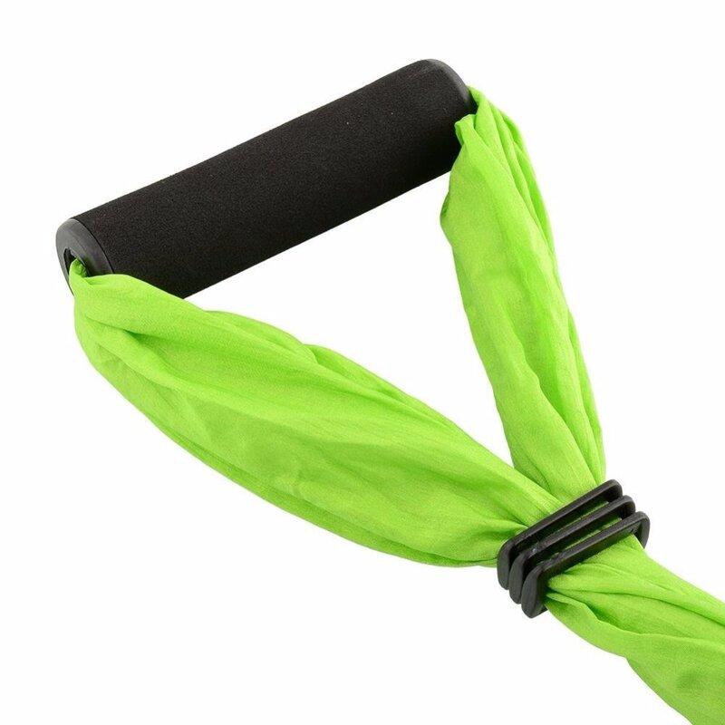 Neue 6 farbe Festigkeit Dekompression yoga Hängematte Inversion Trapeze Anti-Schwerkraft Luft Traktion yoga Gym strap yoga Schaukel set