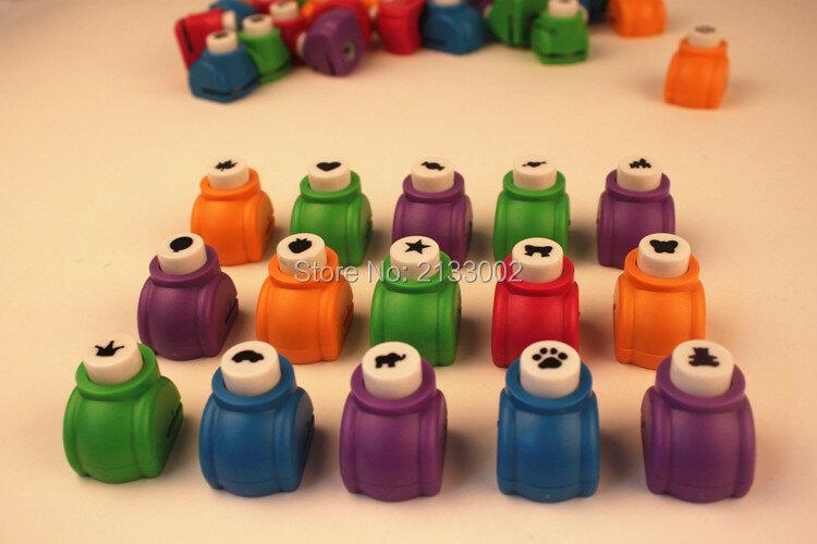 Mini poinçons de scrapbooking faits à la main, carte de coupe, artisanat Calico, impression de fleurs, papier artisanal, poinçon de trou, outil de bricolage