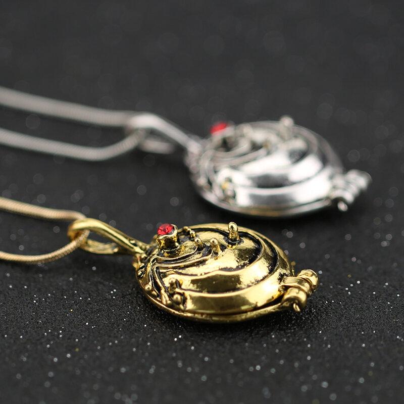 قلادة يوميات مصاص دماء من إيلينا ، جيلبرت ، قلادة فيران ، مجوهرات للرجال والنساء ، بيع بالجملة