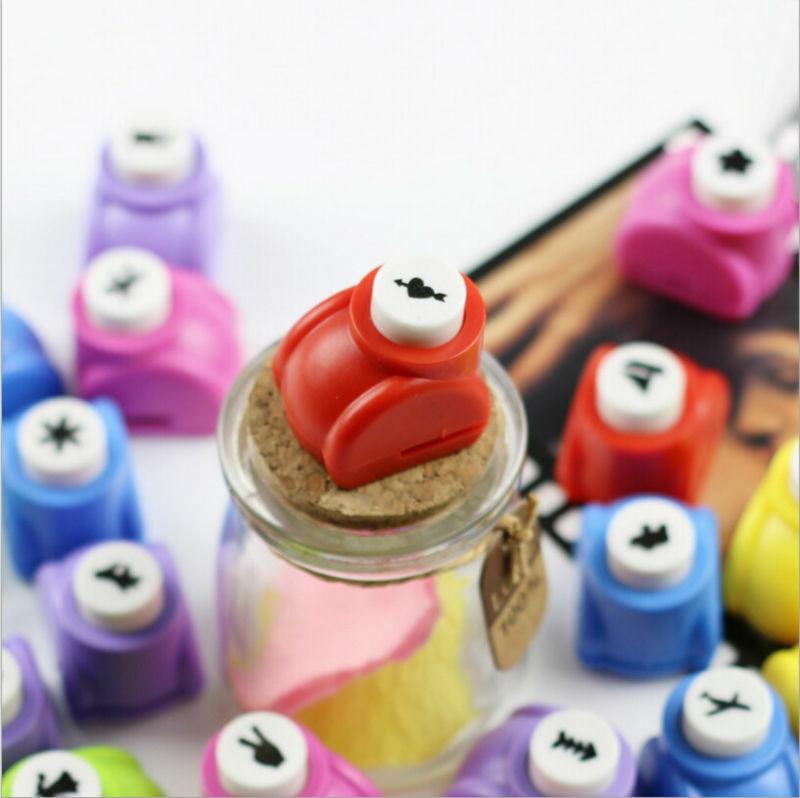 Artisanat fait à la main et outil de Scrapbooking Mini papier poinçon pour bricolage cartes-cadeaux poinçons dispositif de gaufrage perforadora de papel