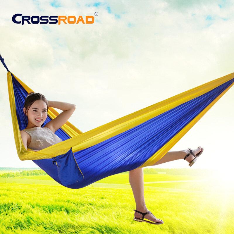 새로운 정원 스윙 잠자는 침대 작은 단일 교수형 의자 휴대용 해먹 낙하산 나일론 rede 스윙 의자 캠핑 hamaca 키즈