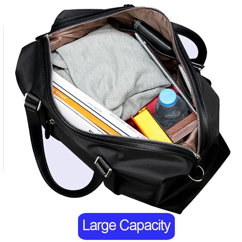 BOPAI Männer Reisetasche Große Kapazität Multifunktionale Hand Tasche Tote Schulter Reisetaschen Gepäck Weibliche Wasserdichte Duffle Handtasche