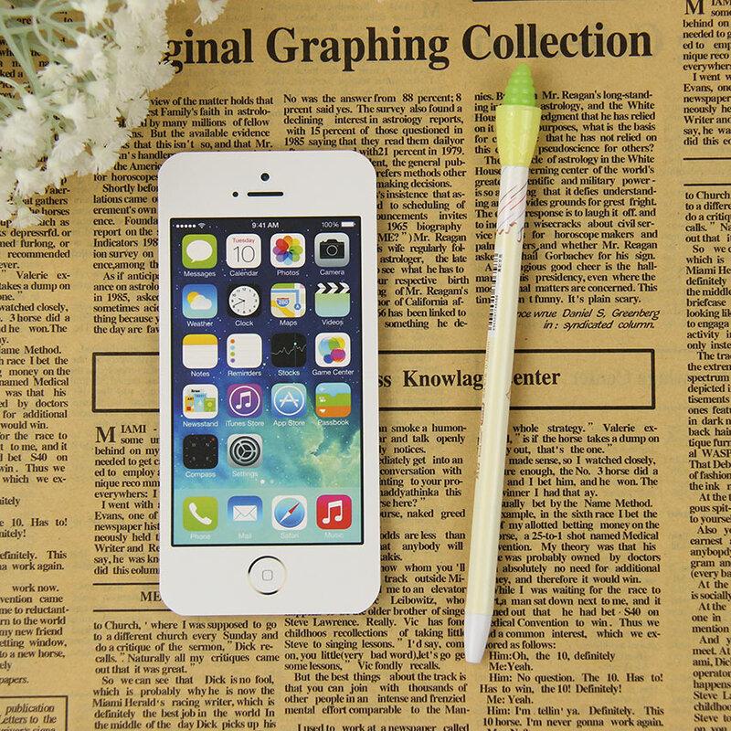 ورق ملاحظات لاصق على شكل هاتف خلوي ، مستلزمات مكتبية ، مذكرات ، هدايا