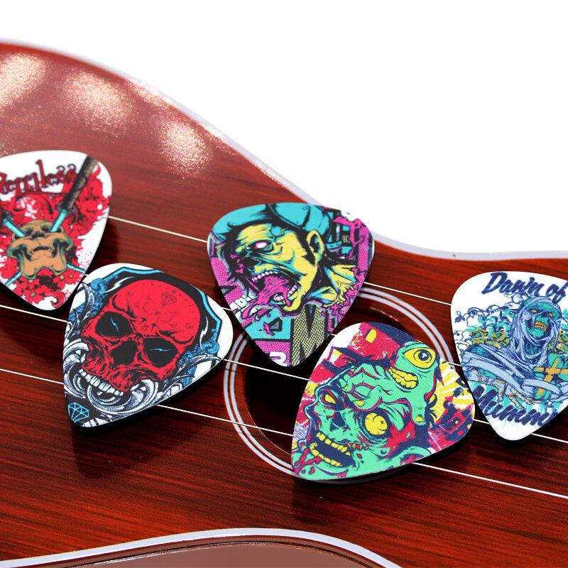 SOACH 10 stücke Neueste Die cartoon skeleton Gitarre Picks Dicke 1,0mm gitarre pick ukulele für Gitarre Zubehör