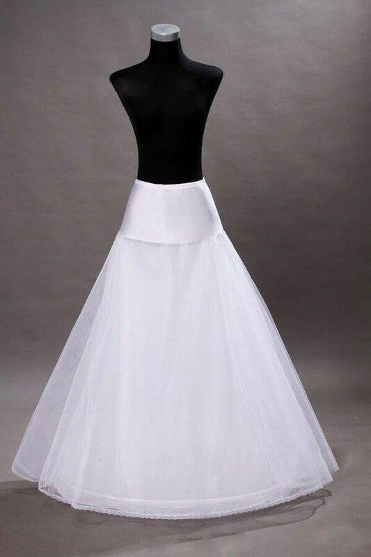 جديد وصول 100% عالية الجودة ألف خط تول الزفاف ثوب نسائي ثوب نسائي Crinolines لفستان الزفاف بالجملة