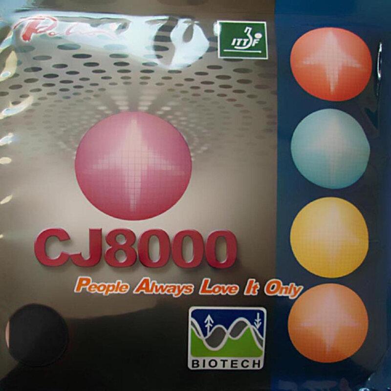 Palio CJ8000 BIOTECH 2 ด้าน Loop Type pips - in ยางปิงปองฟองน้ำ H36-38