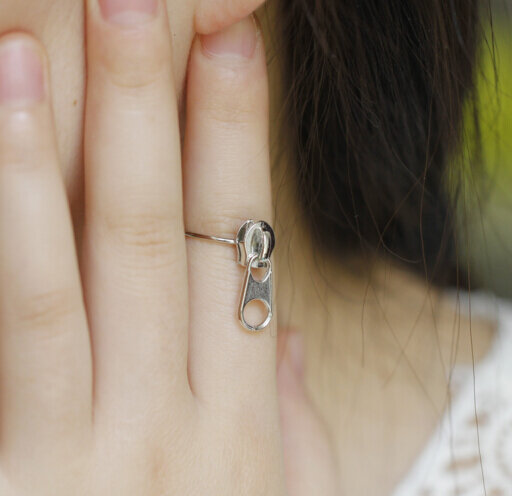 Timlee E019-أقراط معدنية عتيقة مع سحاب ، مجوهرات الأزياء ، بالجملة ، شحن مجاني