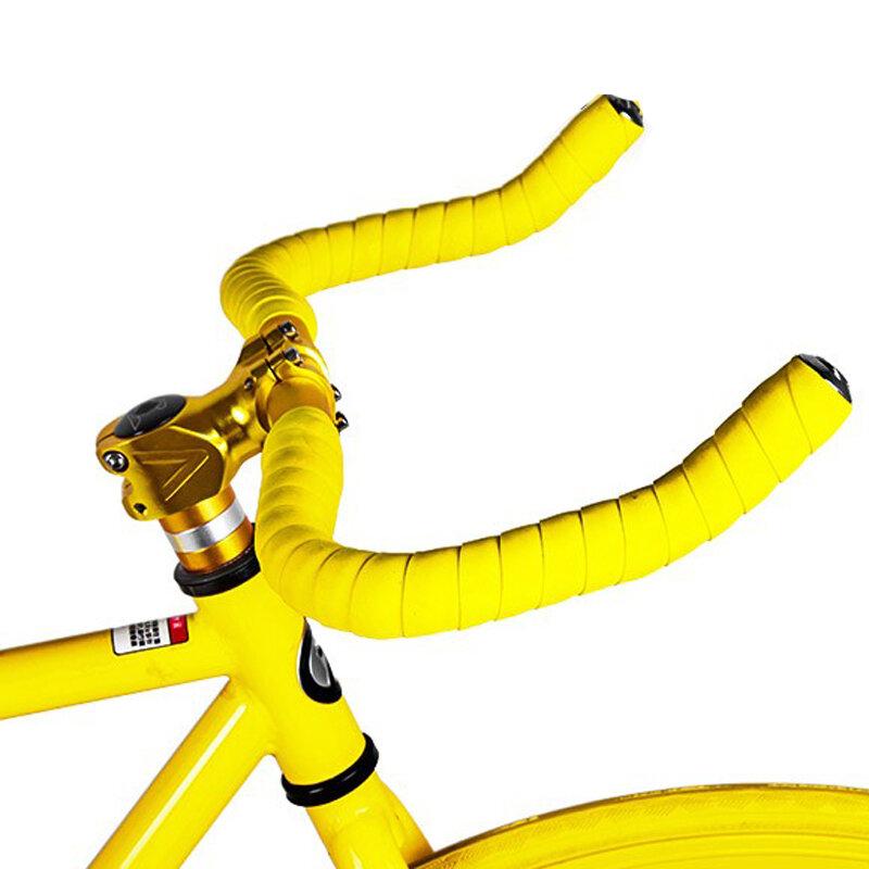 شريط مقود الدراجة على الطريق ، غطاء من الفلين مع 17 لونًا ، مموه ، لركوب الدراجات ، FZE001
