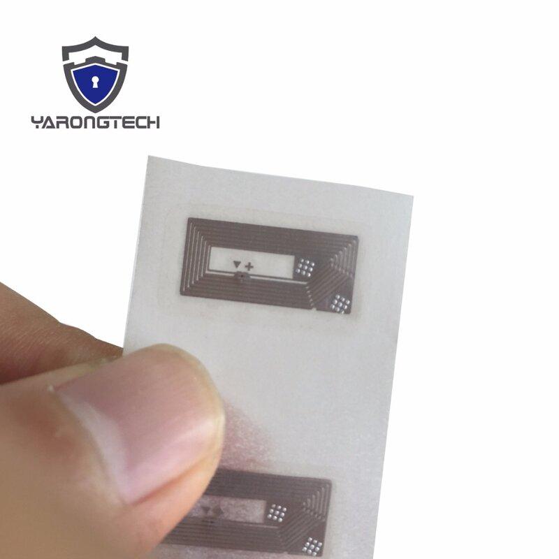 NFC ขนาดเล็ก: 13.56Mhz 12X22มม.Ntag213สติกเกอร์-15ชิ้น/ล็อต